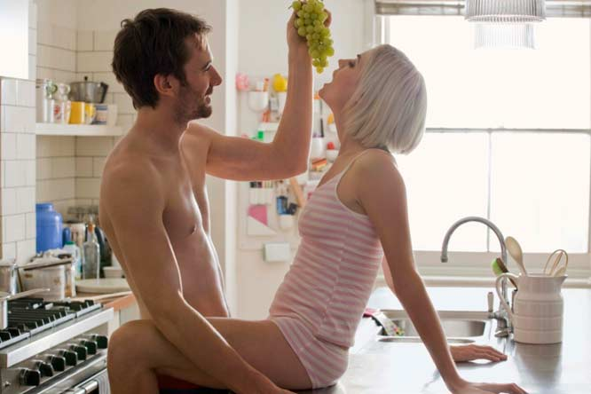 Cibo e sesso, gli ingredienti giusti di una relazione