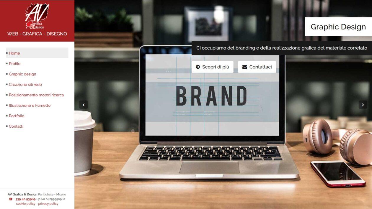 AV Grafica & Design rinnova il proprio sito internet